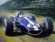 Gurney Wins Spa! - Limited Edition Print
