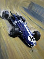 Dan Gurney RMMR 2010 - Limited Edition Print