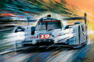Limited Edition Print Porsche 919 - 2015 Winner of the 24 Heures du Mans
