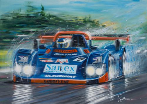 Le Mans 1996, Davy Jones wins in the Porsche