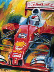 Ferrari Vettel 2016 Limited Edition Print