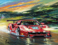 Risi Competizione at LeMans 2016 - Limited Edition Print