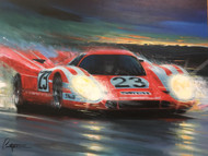 """Porsche's First!"" SIGNED GICLEE ON CANVAS"