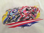 Copy of MotoGP Tee shirt (size- X- large)