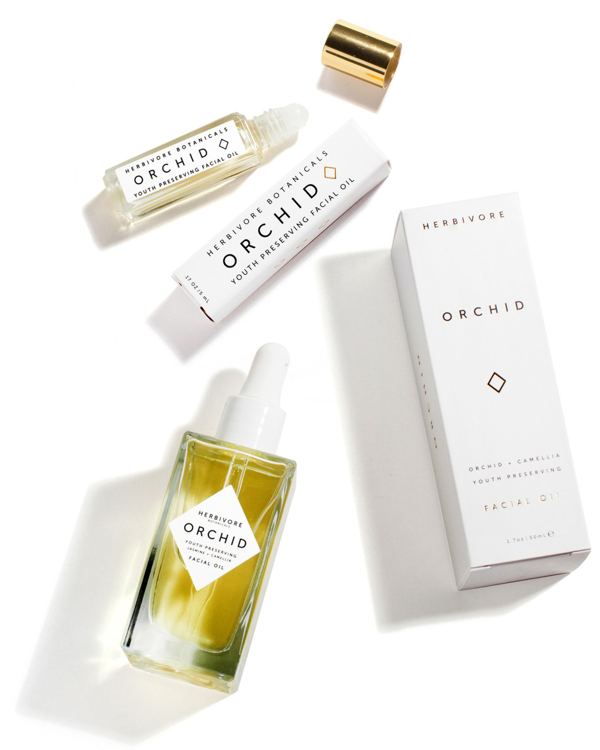 Orchid Facial Oil Set