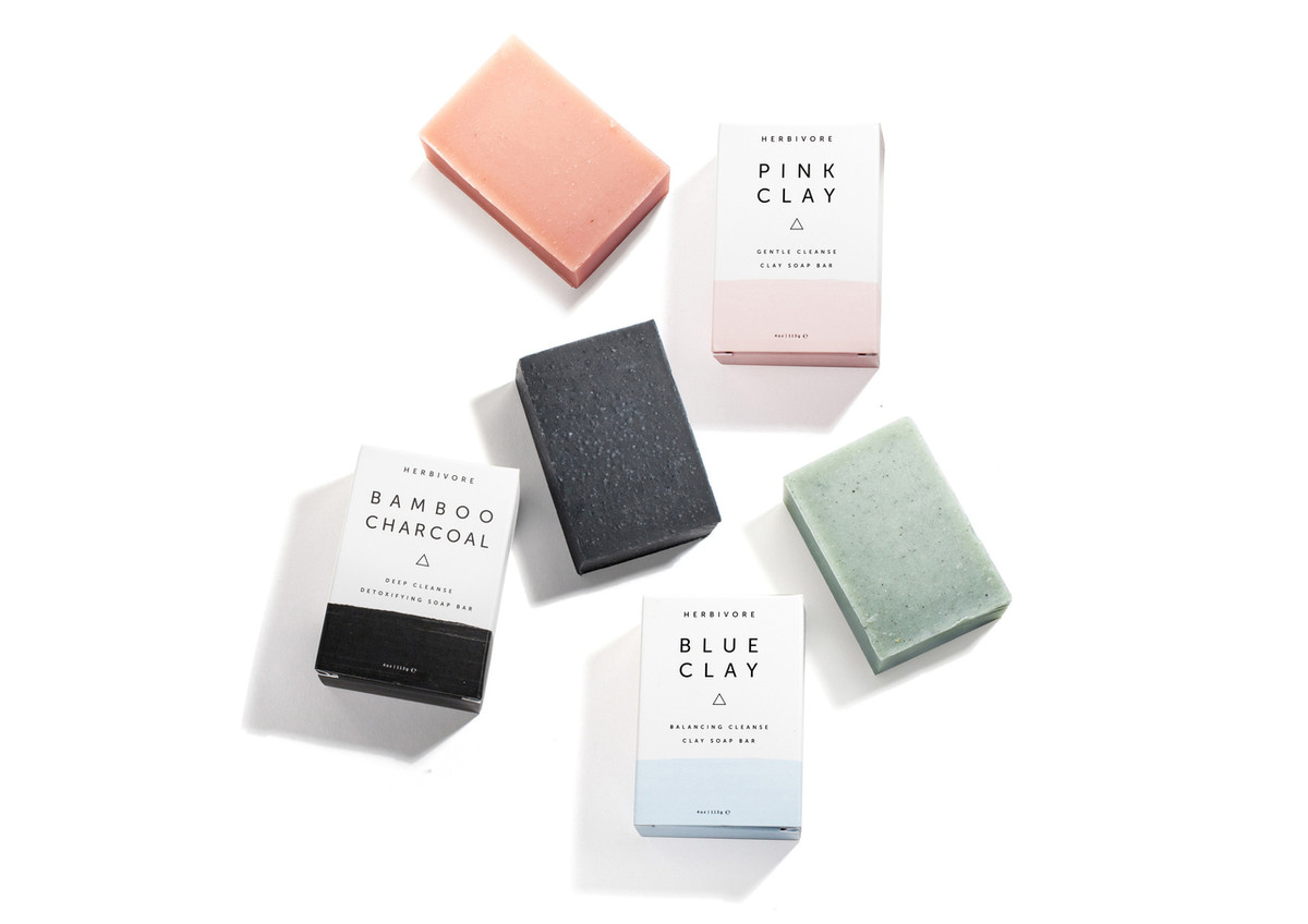 Clay Cleansing Bar Soap Trio