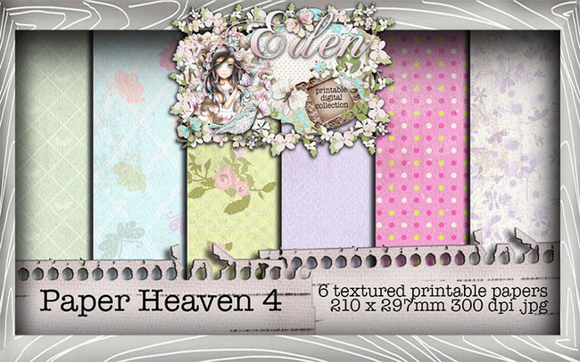 Eden Collection - Paper Heaven 4 Digital Craft Download Bundle