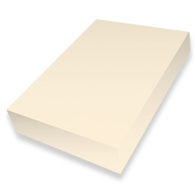 Cream A4 smooth 225gsm cardstock