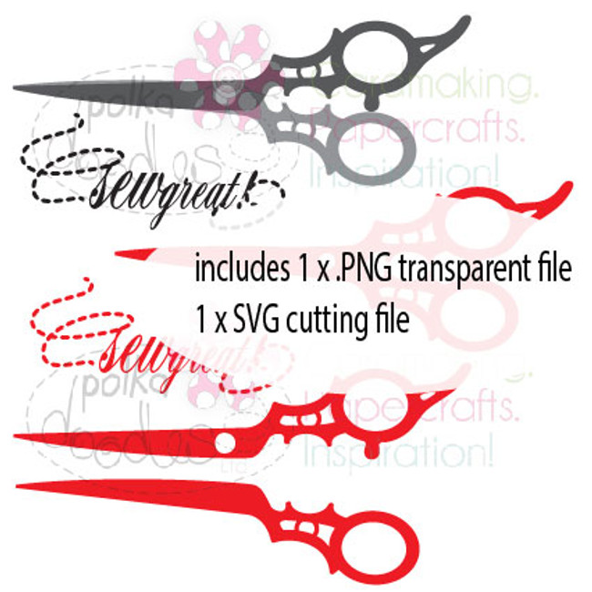 Scissors/Sewing Cutting File download