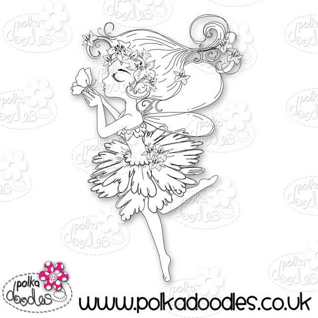 Serenity Fairy Kisses - Digital Craft Stamp download