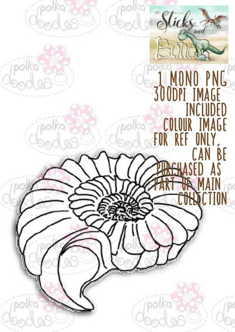Sticks & Bones - Fossil/Anemone - Digital CRAFT Download