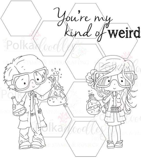 You're Weird Digital Stamp Craft download