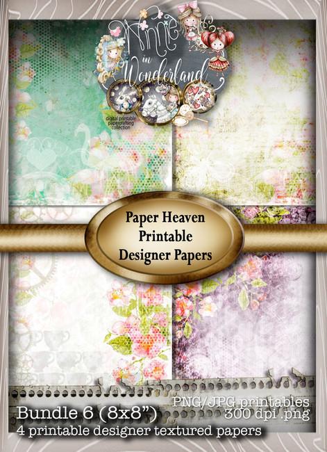 Winnie Wonderland Paper Heaven 6 - Printable Digital download