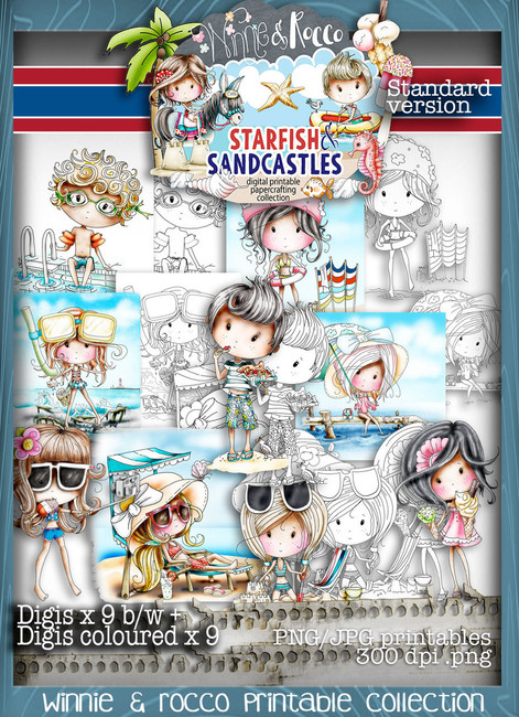 STANDARD EDITION Winnie Starfish/Sandcastles - DOWNLOAD