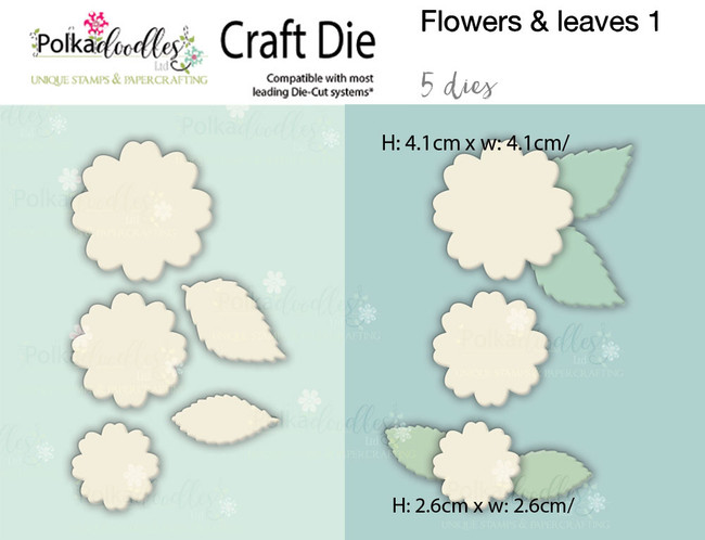 Flowers 1 - Craft cutting die