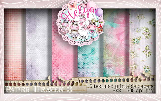 Helga Hippo Paper Heaven 3 download bundle