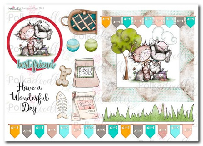 Horace & Boo Design Sheet 7- download printable