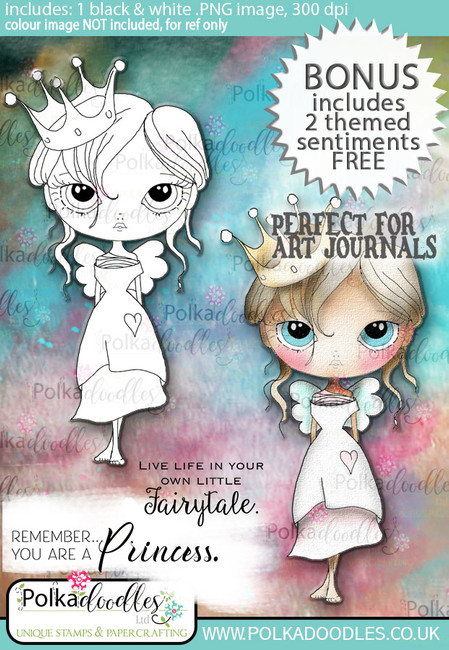 Ula be a Princess - Life Journal craft digi download