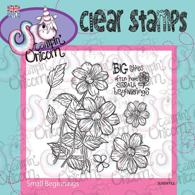 Small Beginnings - Clear Stamp Set by Stampin Unicorn
