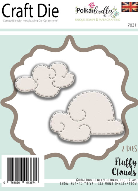 Fluffy Clouds -  Craft die Cutting set