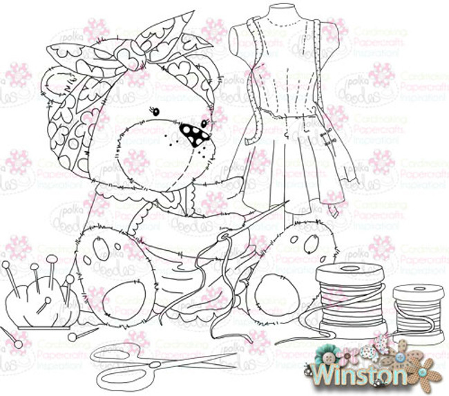 Winston Bear Etty Sewing