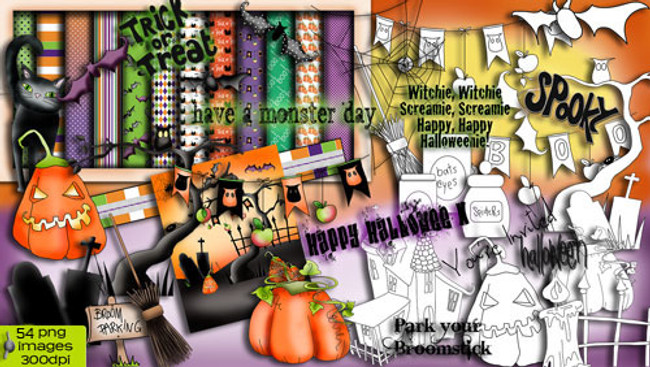 Witchie Witchie 2013 Craft Download Bundle