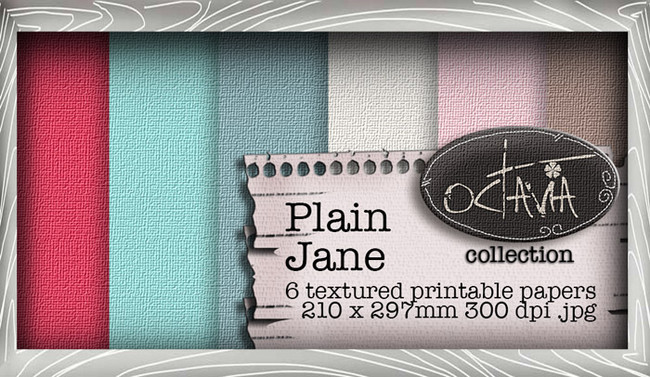 Octavia Moonfly - Paper Heaven Plain Jane Digital Craft Download