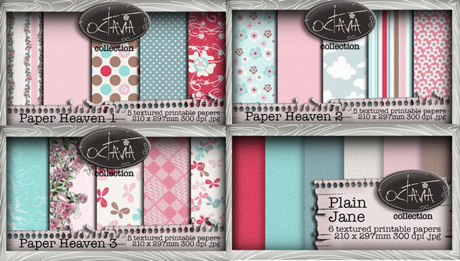 Octavia Moonfly - Paper Heaven Paperholic Digital Craft Download