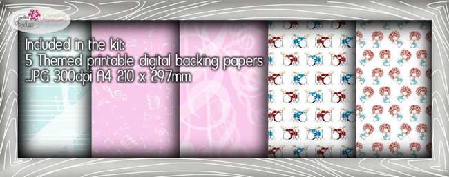 Drum Theme Paper Craft download