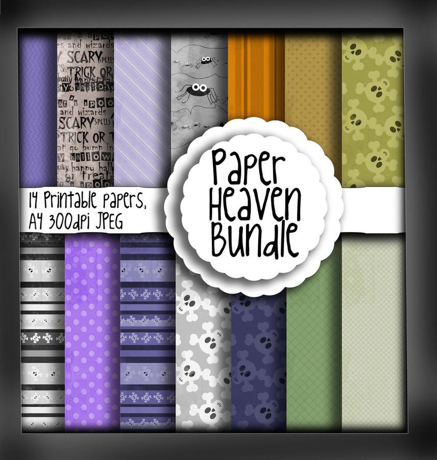 Halloween/Autumn Paper Heaven 2 - digital download bundle