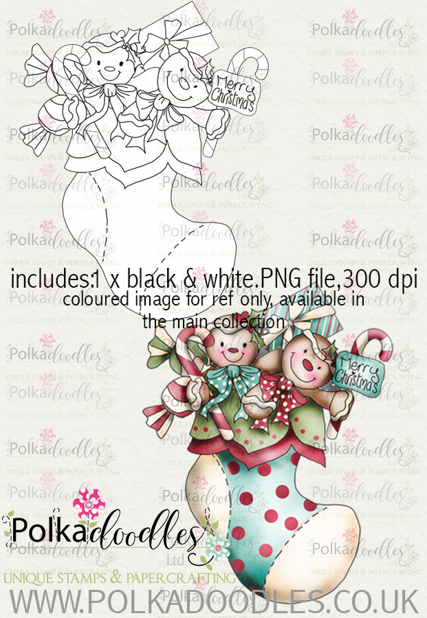 Baked With Love - Stocking Filler digital craft download