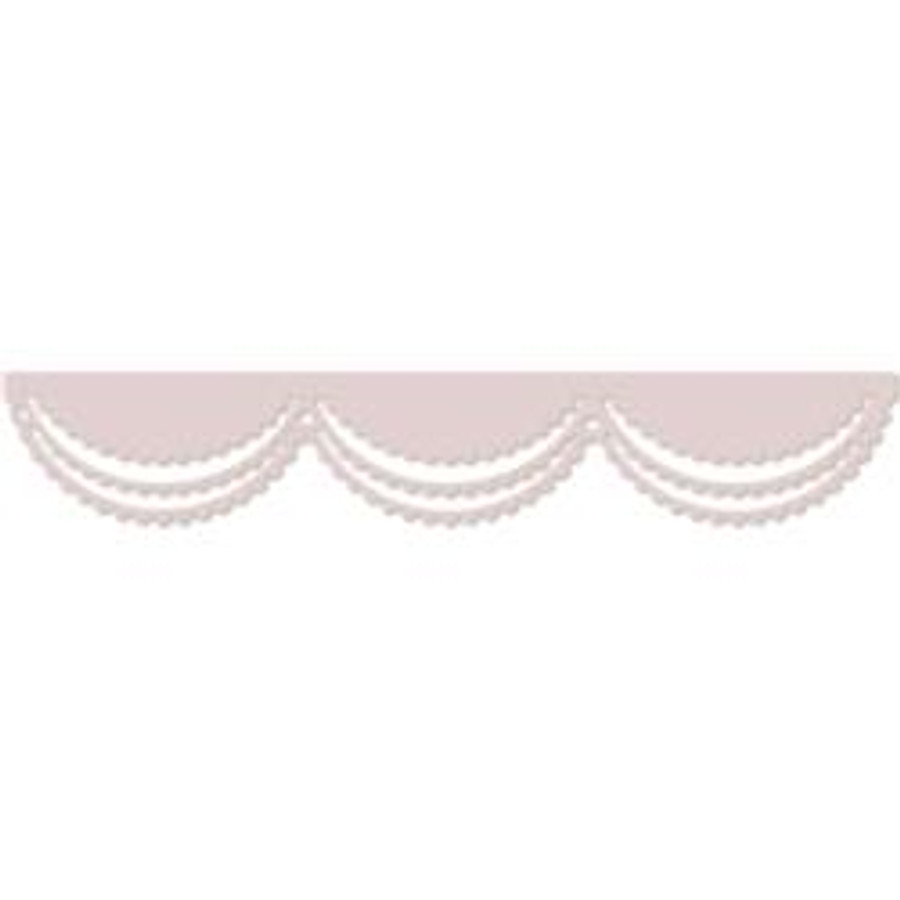 "Scalloped Swag - Large 6"" border Die Set - Polkadoodles at Little Darlings/LDRS"