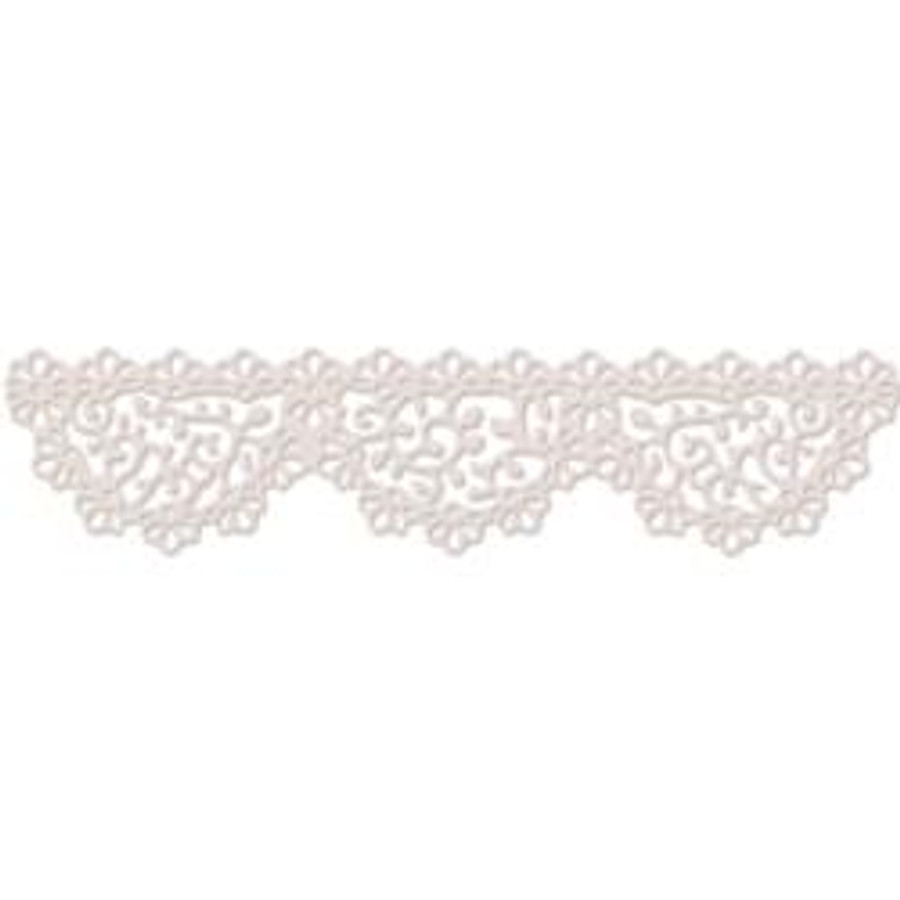 "Dainty Doily - Large 6"" border Die Set - Polkadoodles at Little Darlings/LDRS"