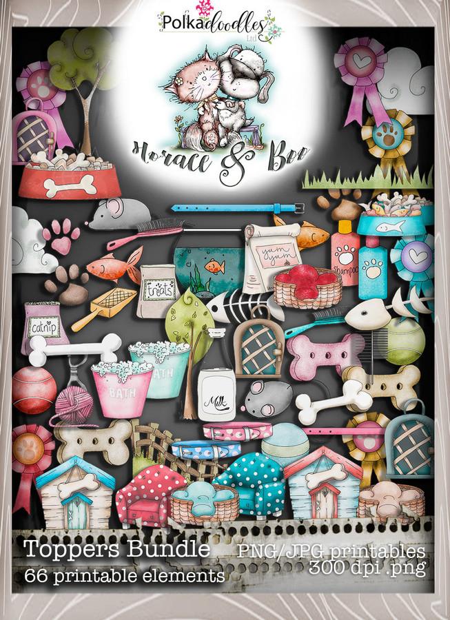Embellies Bundle - Horace & Boo download printable bundle