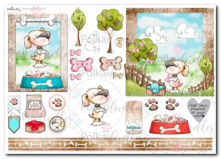 Horace & Boo Design Sheet 1- download printable