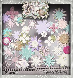 Eden Collection - Blooming Heaven Digital Craft Download Bundle