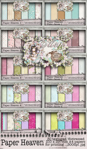 Eden Collection - Paper Heaven 1-10 Digital Craft Download Bundle