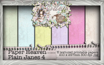 Eden - Paper Heaven Plain Jane 4 Digital Craft Download