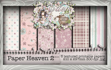 Eden Collection - Paper Heaven 2 Digital Craft Download Bundle