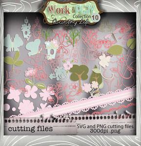 Work & Play 10 - Cutting Edges Digital Craft Download Bundle