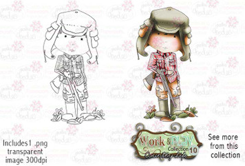 Ranger Digital Stamp - Work & Play 10 Digital Craft Download