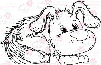Dog/puppy 2 Digital Stamp - Digital Craft Download