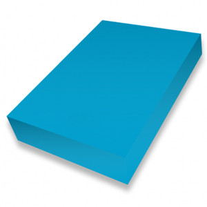 Cadet Blue A4 smooth 225gsm cardstock