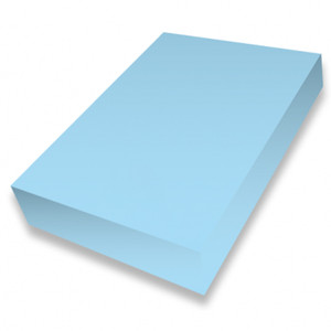 Sky Blue A4 smooth 225gsm cardstock