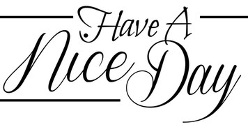 Have a nice Day - printable Digital Stamp free download