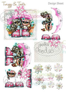 Twiggy & Toots Digital Craft Download - Design Sheet 5