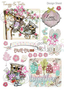 Twiggy & Toots Digital Craft Download - Design Sheet 6