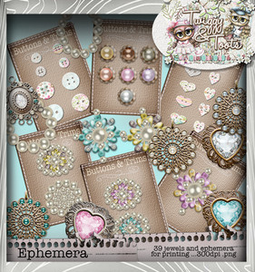 Twiggy & Toots Jewelicious bundle - Digital Craft Download