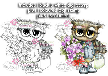 A Gift for you Twiggy & Toots - Digital Stamp Craft Download