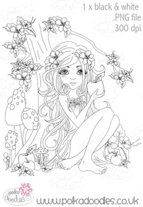 Snow White - Digital Craft Stamp download